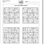 Printable Medium Sudoku Https://www.dadsworksheets