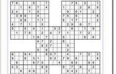 Easy Sudoku 16×16 Printable Krazydad