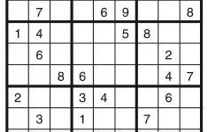Free Puzzles Printable Sudoku Puzzles