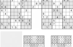 Printable Sudoku High-Five, Aug. 1 – [Pdf Document]