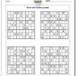 Puzzle Sudoku Printable | Shop Fresh