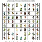 Robot Sudoku Puzzles {Free Printables}   Gift Of Curiosity