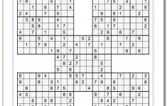 High Five Sudoku Puzzles Printables