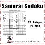 Samurai Sudoku Puzzles   25 Unique Sudoku Puzzle Collection