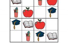 Free Printable Kindergarten Sudoku
