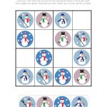 Snowman Sudoku {Free Printable}   Gift Of Curiosity