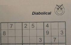 Fiendish Sudoku Printable