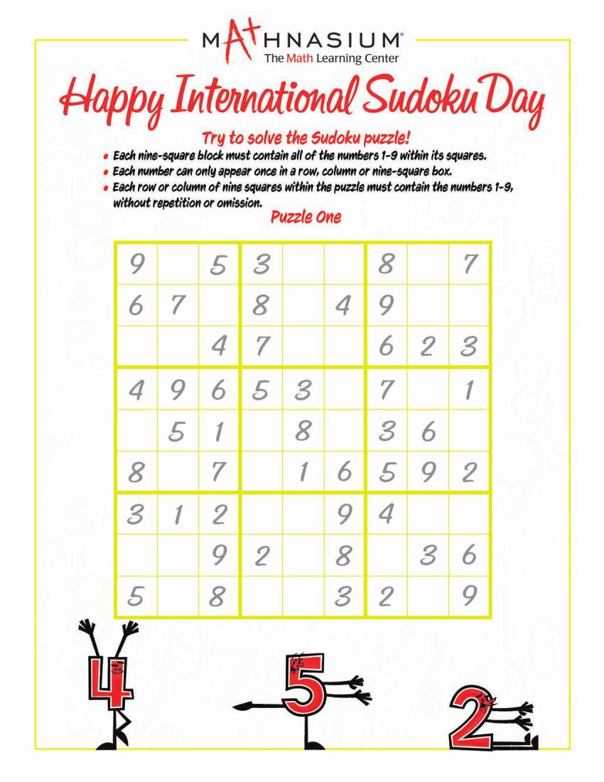 Sudoku Day 2019