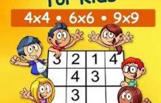 Sudoku For Kids 4X4 – 6X6 – 9X9 180 Sudoku Puzzles – Level