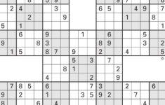 Sudoku Five High Printable