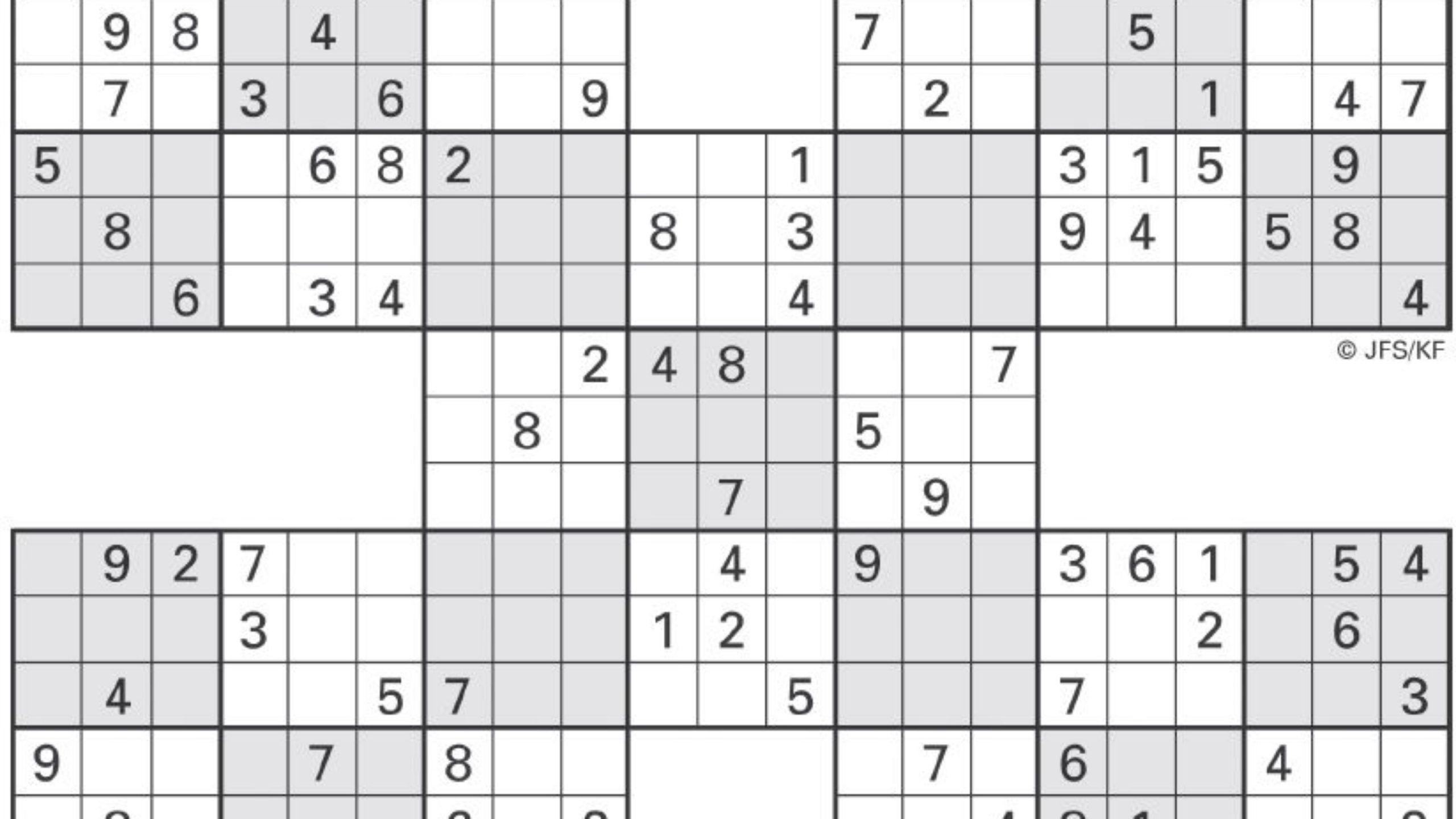 Sudoku High Fives | Activity Shelter