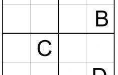 Alphabet Sudoku Printable