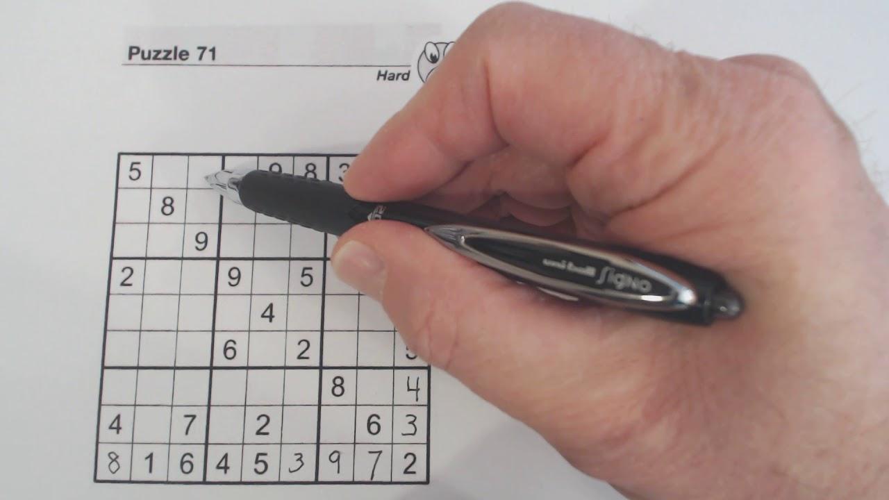 Sudoku Primer 104 - Solving Tips For Hard Puzzle - Diagonal Pattern