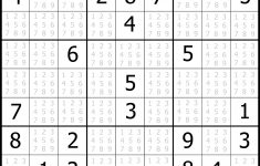 Sudoku Numbers And Letters Printable