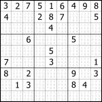 Sudoku Printable   Free, Medium, Printable Sudoku Puzzle #1