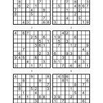 Sudoku Printable Medium 6 Per Pageaaron Woodyear   Issuu