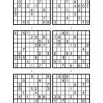 Sudoku Printable Medium 6 Per Pageaaron Woodyear   Issuu
