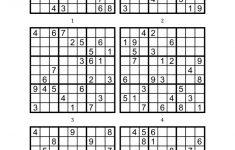 6 Printable Sudoku