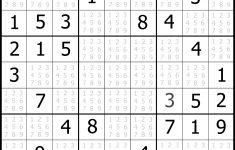 Sudoku Printables Easy PDF