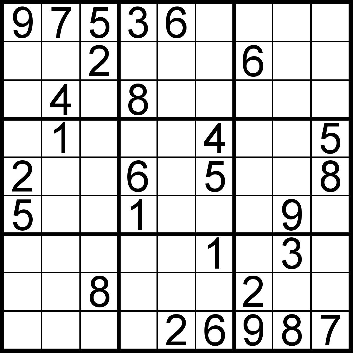 Sudoku Puzzles | Brain Teaser Called Sudoku Puzzles | Sudoku