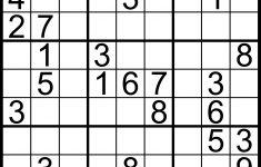 Sudoku Free Download Printable