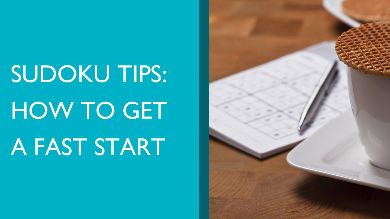 Sudoku Tips | Sudoku Splash
