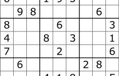 Super Challenger Sudoku Printable Free