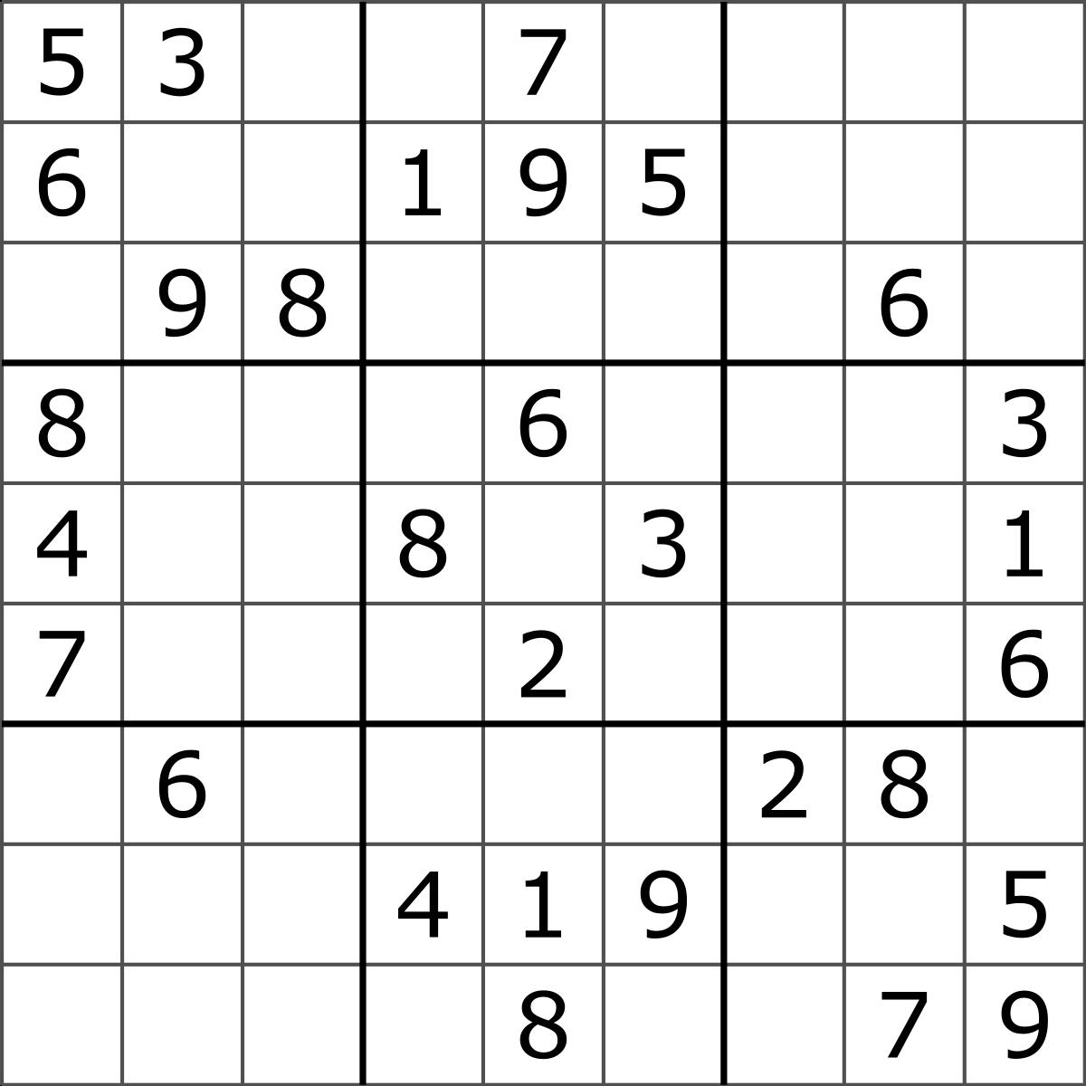 Sudoku - Wikipedia