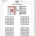 Sudokueasy Set 1 Worksheet #sudoku #worksheet | Sudoku, Free