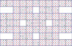 Printable Super Sudoku Puzzles
