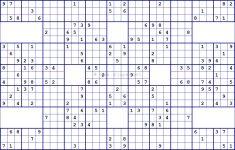 Super Sudoku Free Printable