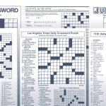 The Daily Commuter Puzzlejackie Mathews | Tribune