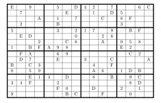 Printable 16 X 16 Sudoku With Solution