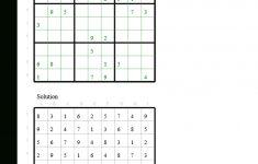 Google Sudoku Printable