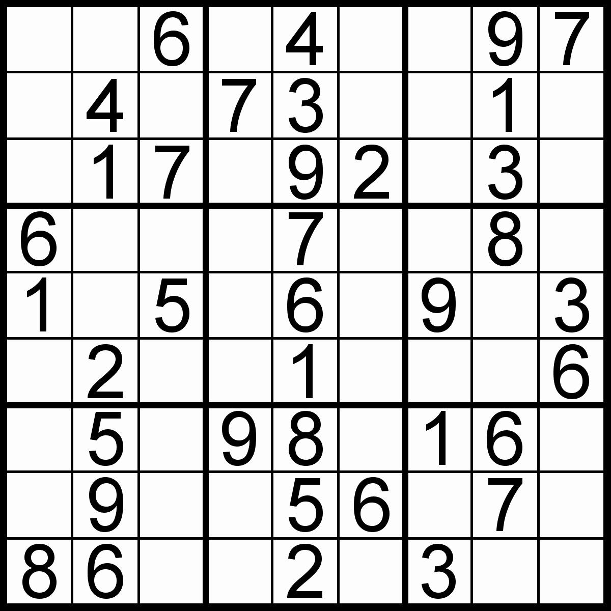 Top Sudoku For Beginners Printable | Mitchell Blog
