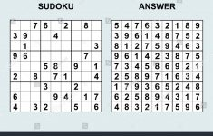 Sudoku Printables With Solutions