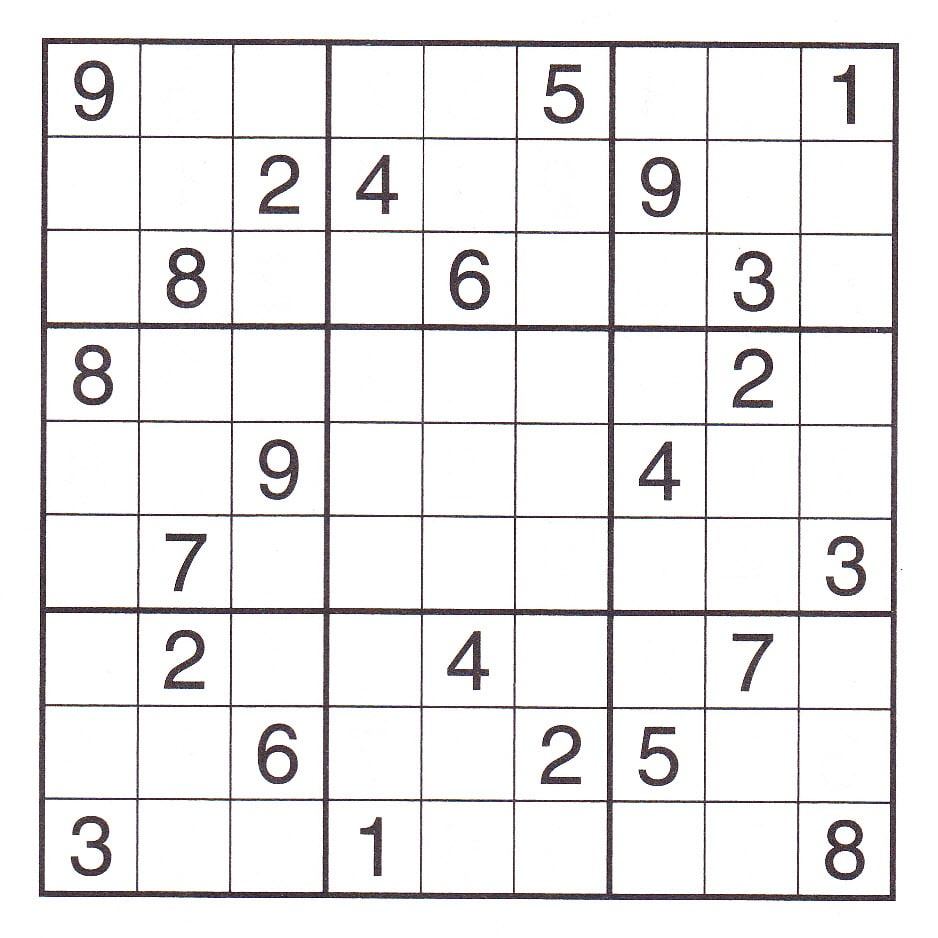 Very Hard Sudoku Printable | Quote Images Hd Free