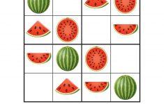 Summer Sudoku Printable