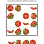 Watermelon Sudoku Puzzles {Free Printables}   Gift Of Curiosity