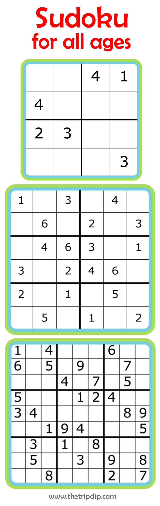 Week 7: Learning Math With Sudoku - Wiskunde, Breinbrekers