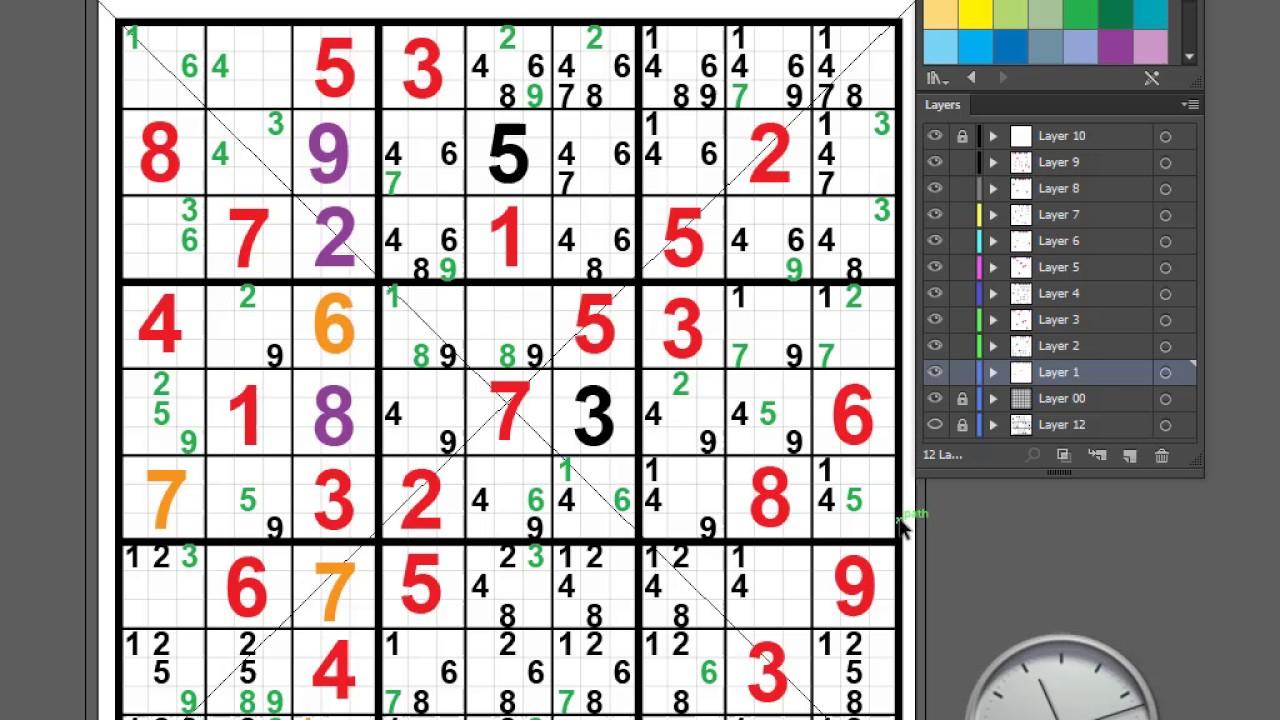 World's Hardest Sudoku 2010 ; Part 7 Of 7 / Final - Youtube