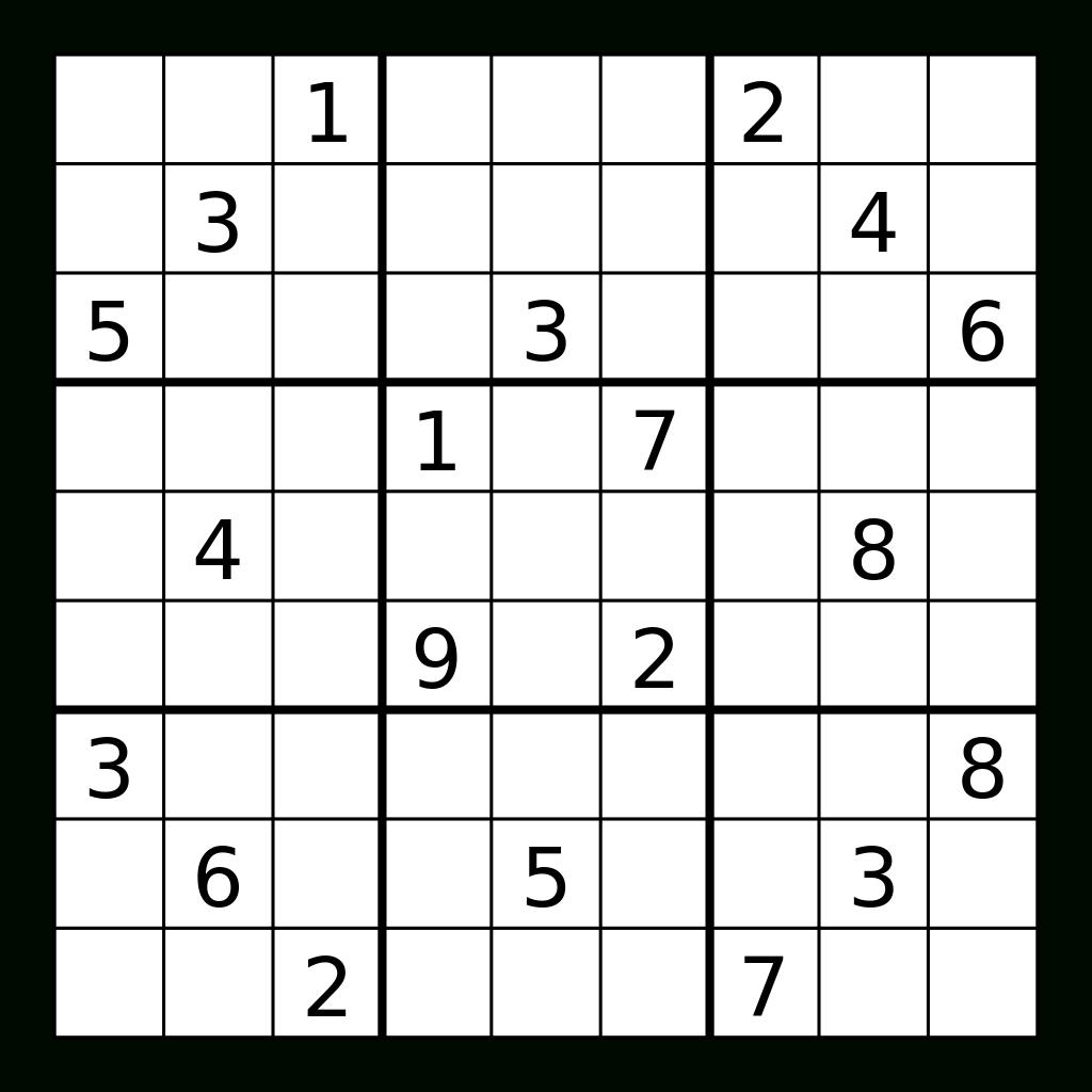 2 [Pdf] Free Printable X Sudoku Puzzles Printable Download Zip