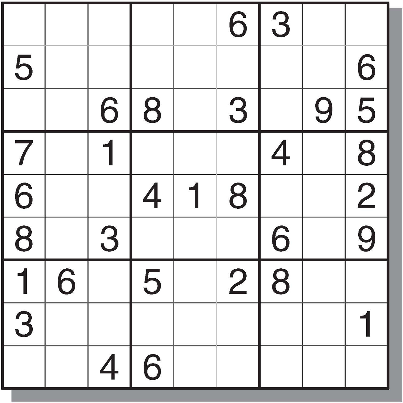4 Best Images Of Free Medium Printable Sudoku - Sudoku