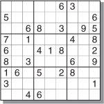 4 Best Images Of Free Medium Printable Sudoku   Sudoku