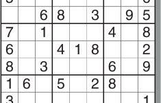Printable Sudoku Puzzles Medium 4