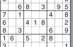 Printable Sudoku By Level