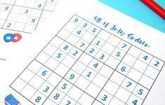 Valentines Sudoku Printable