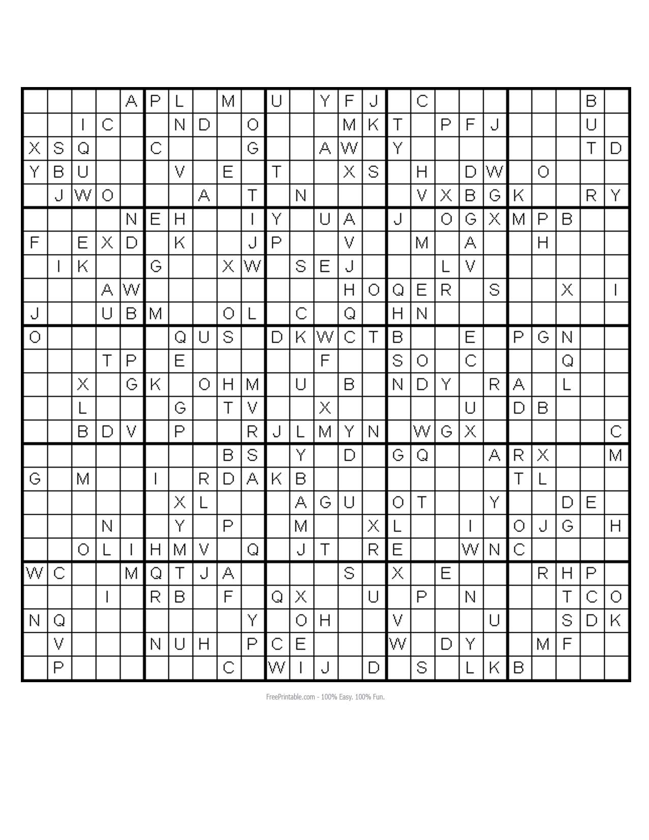 84 Free Printable Monster Sudoku Puzzles, Printable Monster