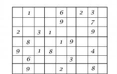 Printable Sudoku 6 X 6 Pdf