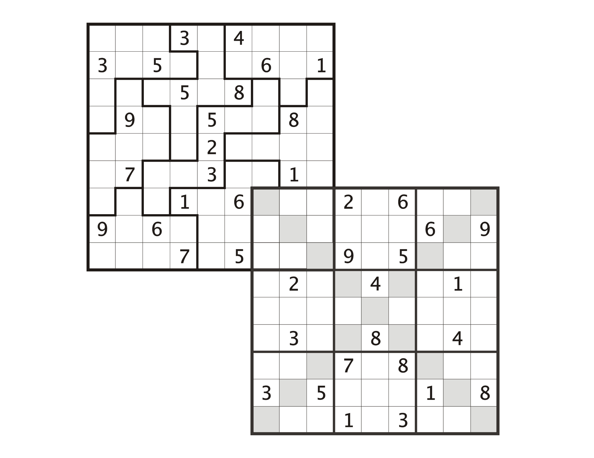 Another Saturday, Another Sudoku : Sudoku